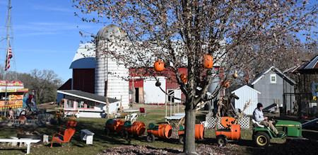 Nelson Farm And Pumpkin Festival Near Litchfield Minnesota